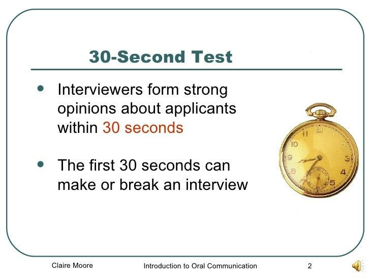 second interview techniques