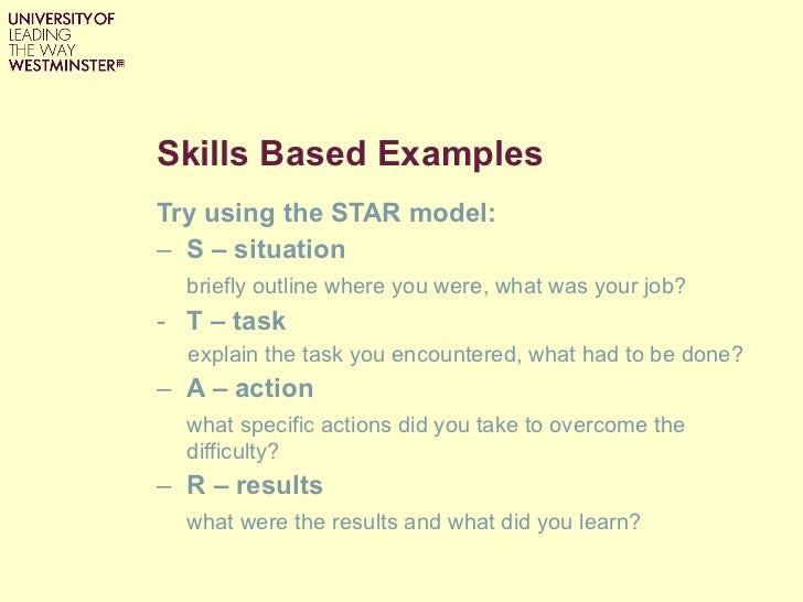 star technique for interviewing
