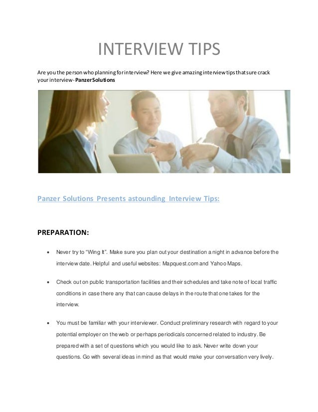 INTERVIEW TIPS Are You The Personwhoplanningforinterview? Here We Give  Amazinginterview Tipsthatsure Crack Your Interview  ...