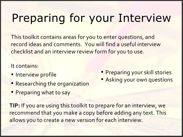 Awesome ... Benjamin Franklin; 5. Preparing For Your Interview .
