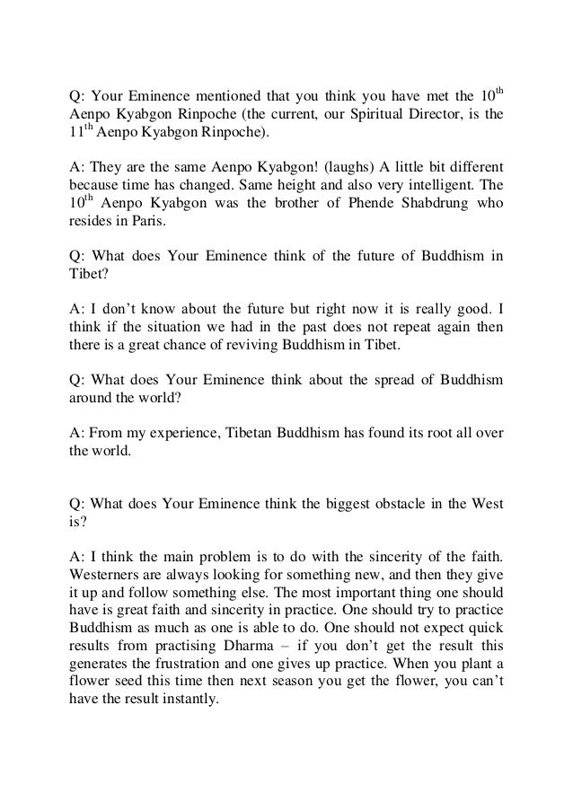 Interview with h.e. luding khenchen rinpoche Slide 2