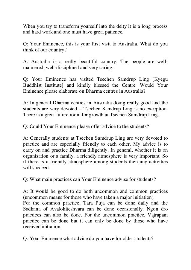 Interview with h.e. luding khenchen rinpoche Slide 3