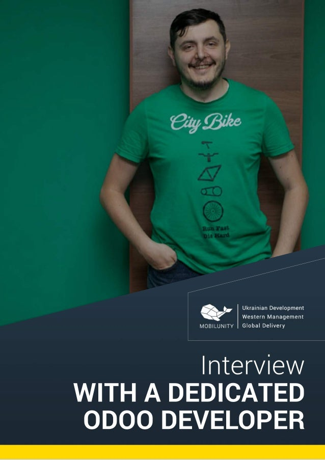 Interview WITHADEDICATED ODOODEVELOPER