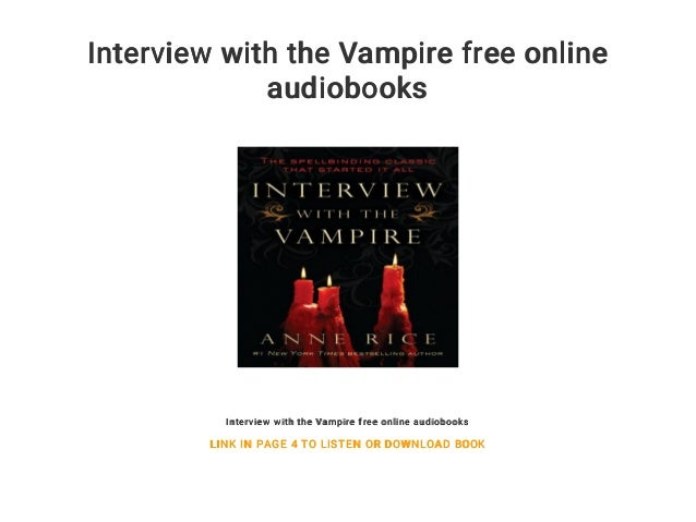 interview with the vampire online free