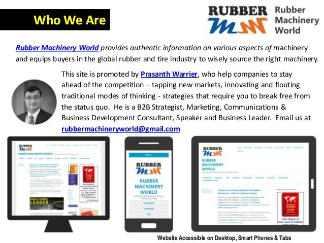 This site is promoted by Prasanth Warrier, who help companies to stay ahead of the competition – tapping new markets, inno...