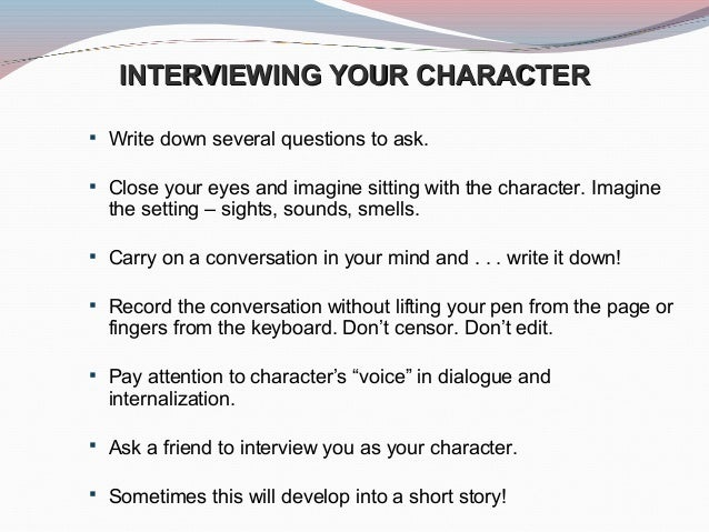 how to write a paper about an interview How to write an interview essay - outline, structure, format, examples, topics.