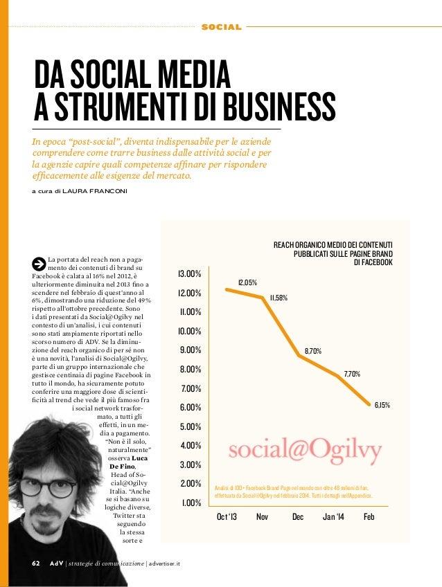 """62 SOCIAL Dasocialmedia astrumentidibusiness In epoca """"post-social"""", diventa indispensabile per le aziende comprendere com..."""