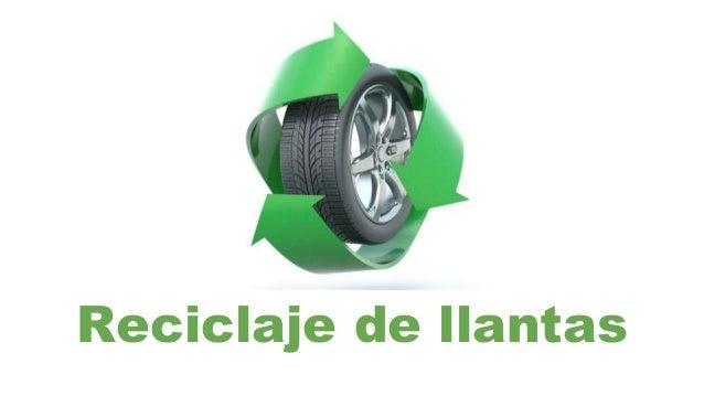 Reciclaje de llantas