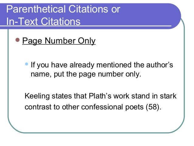 parenthetical citation format Mla documentation style uses brief parenthetical citations in the text that lead to the list of works cited to cite government documents in parenthetical.