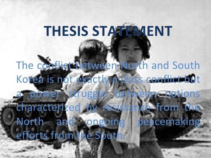 Dissertation about korea