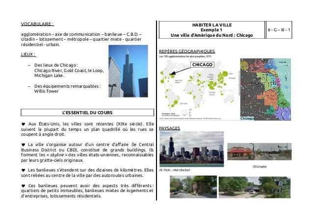 Intégrale fiches géographie 6e Slide 3