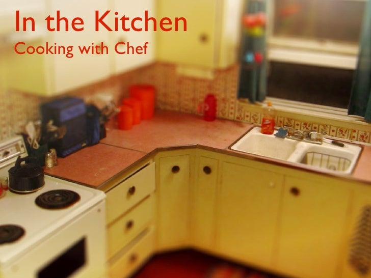 In the Kitchen Cooking with Chef