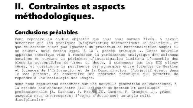 III. Un terrain d'observation 2.0 – La chaîne organisationnelle du web. Données du corpus Les éléments de corpus que nous ...