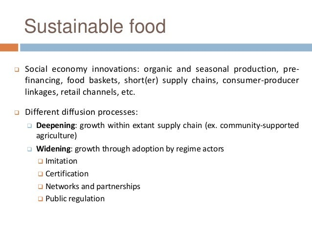 INTI2016 161124 DISEIN-FOOD – Diffusing Social Economy Innovations in the Sustainable Food Sector Slide 3