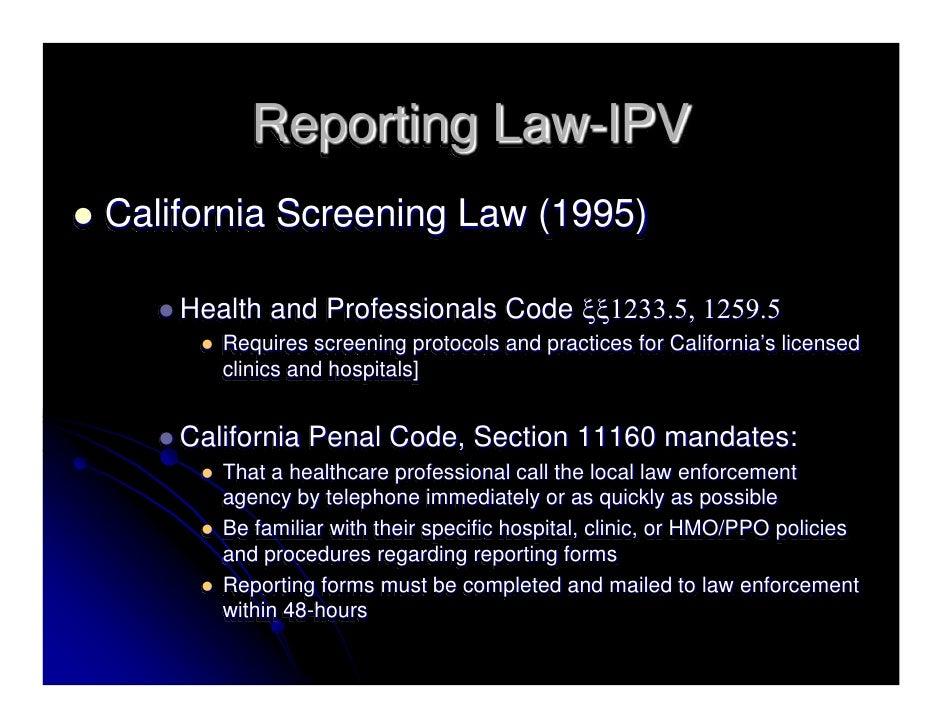 Dating violence california penal code