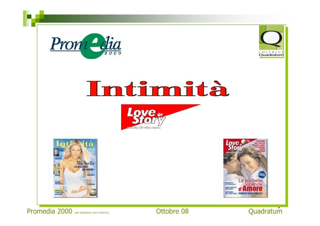 1 Promedia 2000   (ad   esclusivo uso interno)   Ottobre 08   Quadratum