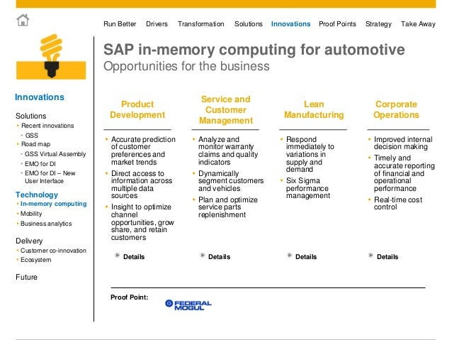 sap ag in 2006 driving corporate transformation Prof dr alexander mädche: office hours: by appointment only 2006 - 2009 sap ag last change.