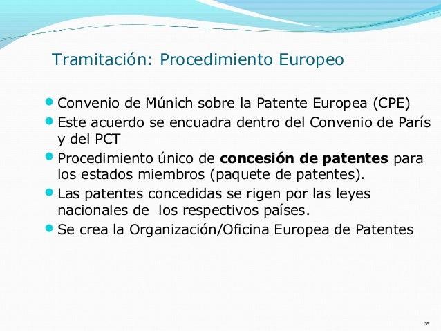 Introducci n a las patentes de invenci n an lisis de for Oficina europea de patentes