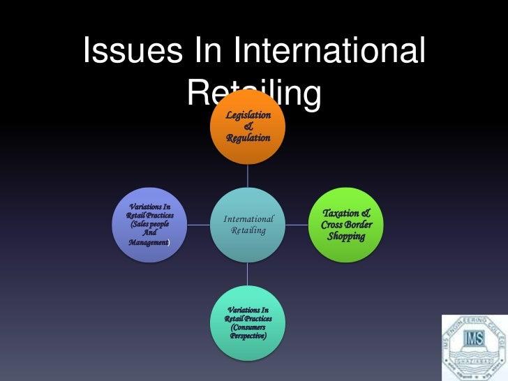 International Retailing   Factors Involved   Reasons for Internationalization