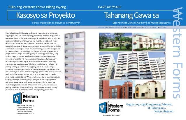 Kasosyo sa Proyekto Para sa mga Sulit na Solusyon sa Konstruksyon  CAST-IN-PLACE  Tahanang Gawa sa  Mga Pormang Gawa sa Al...