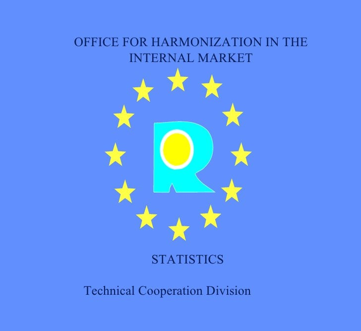 OFFICE FOR HARMONIZATION IN THE INTERNAL MARKET STATISTICS Technical Cooperation Division