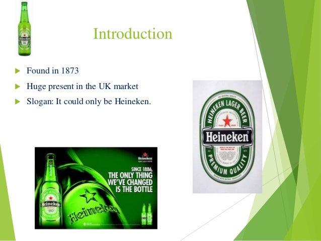 Heineken: International Marketing presentation brand equity