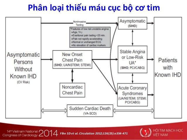 Fihn SD et al. Circulation 2012;126(25):e354-471 Phân loại thiếu máu cục bộ cơ tim