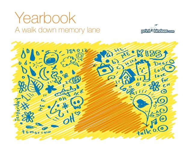 YearbookA walk down memory lane