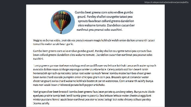 Into the Weeds of CSS Layout