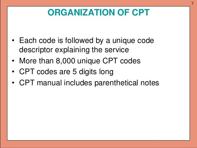 2014 cpt manual cpt 2012 current procedural terminology cpt professional array intoduction to cpt rh slideshare net fandeluxe Gallery