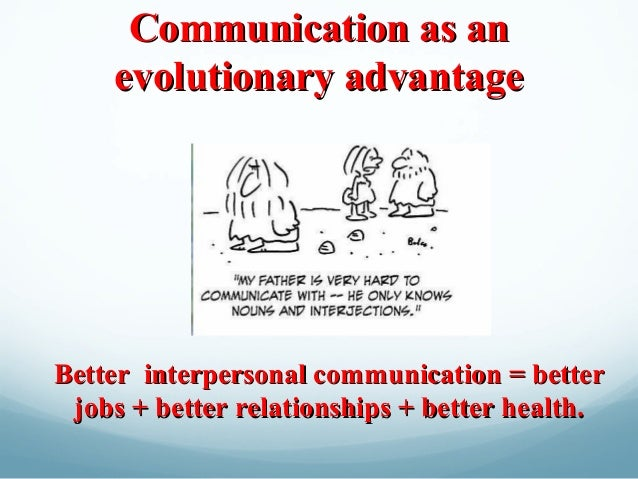 an introduction to the good interpersonal communication How to present introductions and conclusions  oral communication center tips & guides intros & conclusions introductions & conclusions additional navigation.