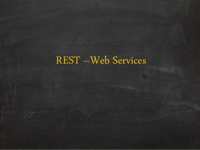 REST –Web Services