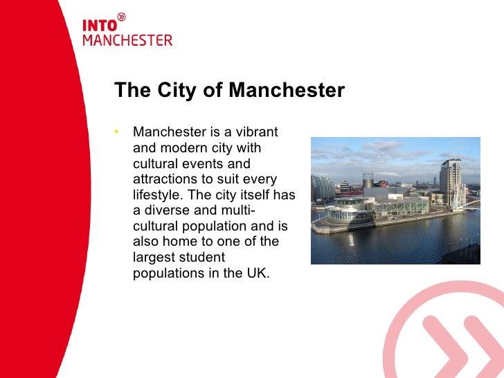 Into manchester presentation blue Slide 2