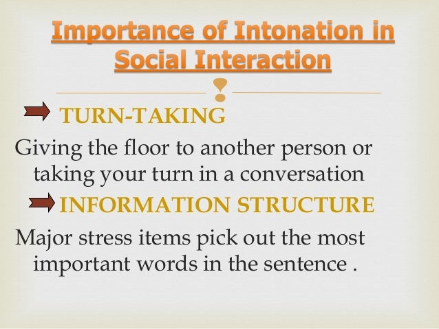 Nadia Amaghou    ► Intonation is the variation of pitch when speaking. ► One of the elements of linguistic prosody. ► Per...