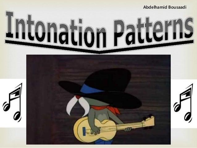 Tone    Intonation