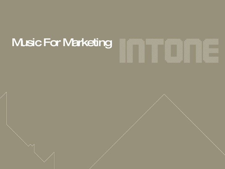 Music For Marketing