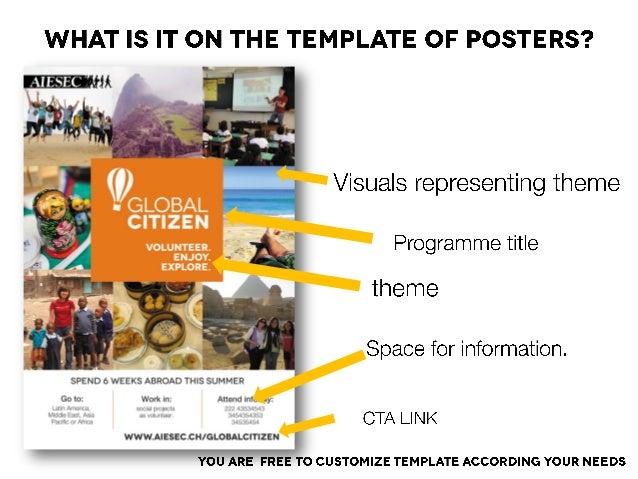 into to volunteering internships campaign, Presentation templates