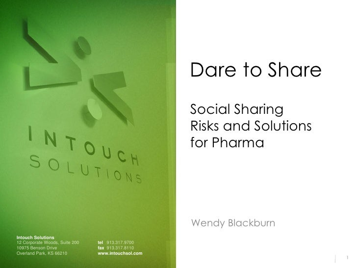 Dare to Share                                                      Social Sharing                                         ...