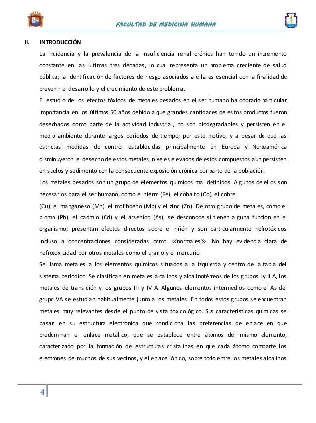 Intoxicacin renal por metales pesados 4 urtaz Image collections