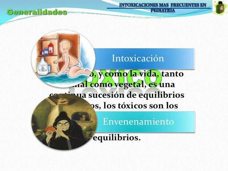 Intoxicaciones en Pediatria.  Slide 2