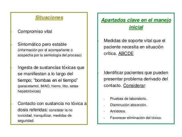 Situaciones - Compromiso vital - Sintomático pero estable (información por el acompañante o sospecha por la semiología del...