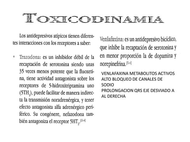 PROLONGACION DEL QTc Y TOXICIDAD GENERAL
