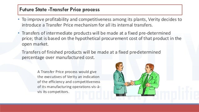 • To improve profitability and competitiveness among its plants, Verity decides to introduce a Transfer Price mechanism fo...