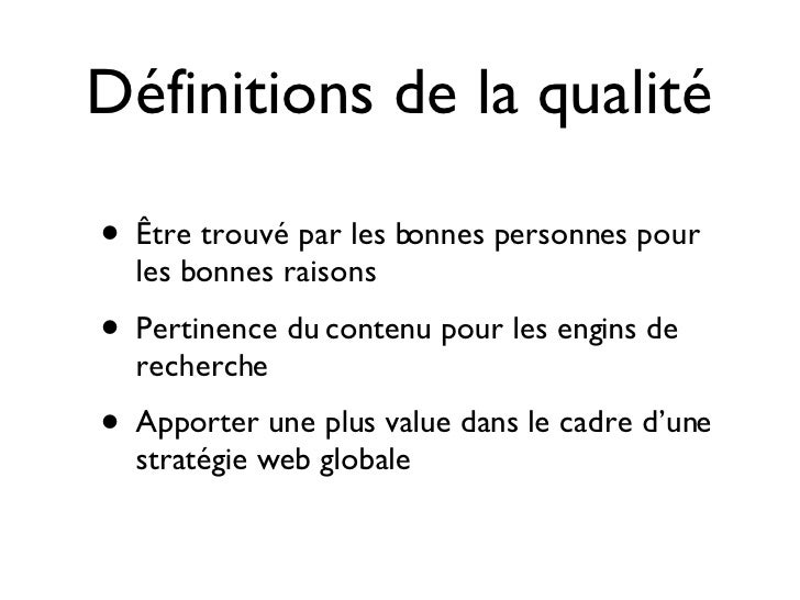 Intracom 08 - Le referencement dans les projets Web Slide 3