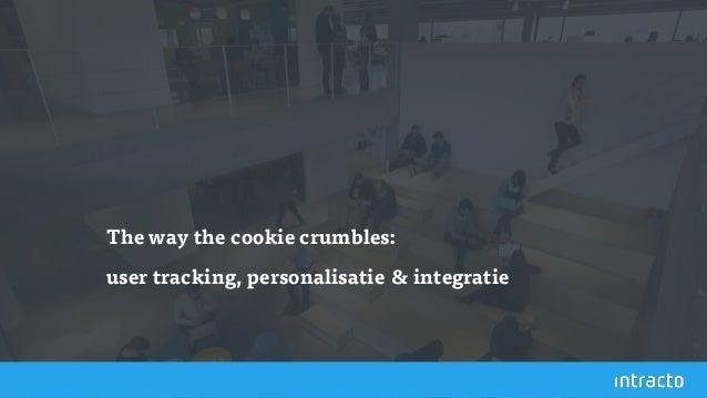 The way the cookie crumbles: user tracking, personalisatie & integratie