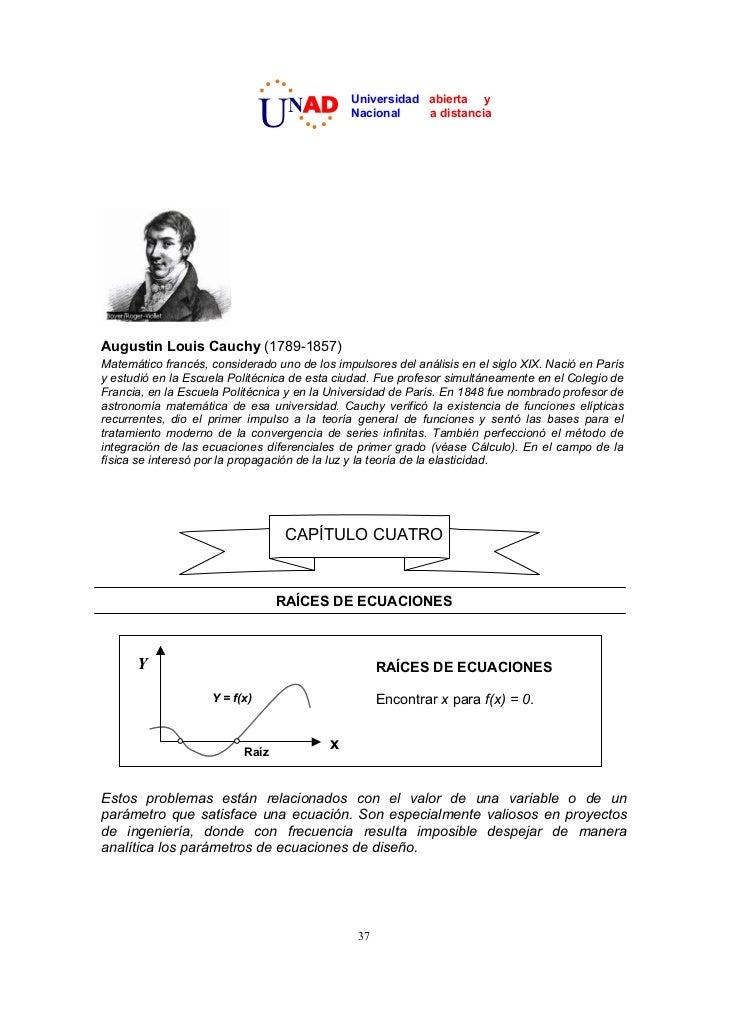 U  NAD         Universidad abierta y                                              Nacional    a distanciaAugustin Louis Ca...