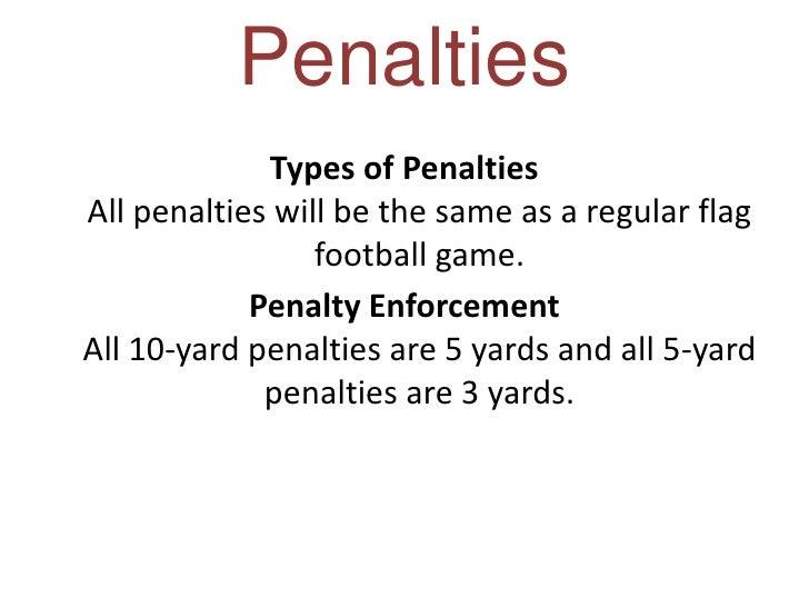 Co-ed 4-on-4 Flag Football Rules