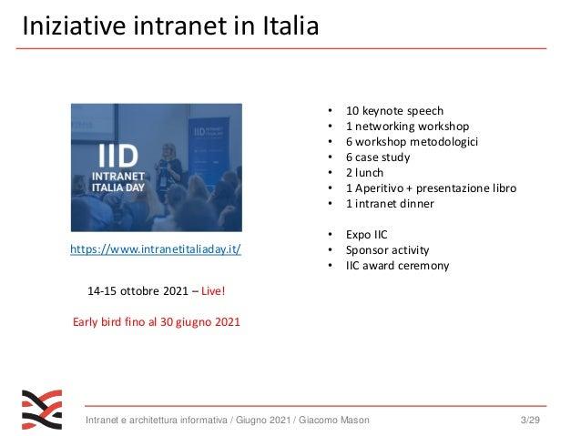 Intranet e information architecture   webinar - [intranet management] Slide 3