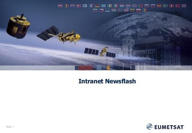 Intranet Newsflash  Slide: 1