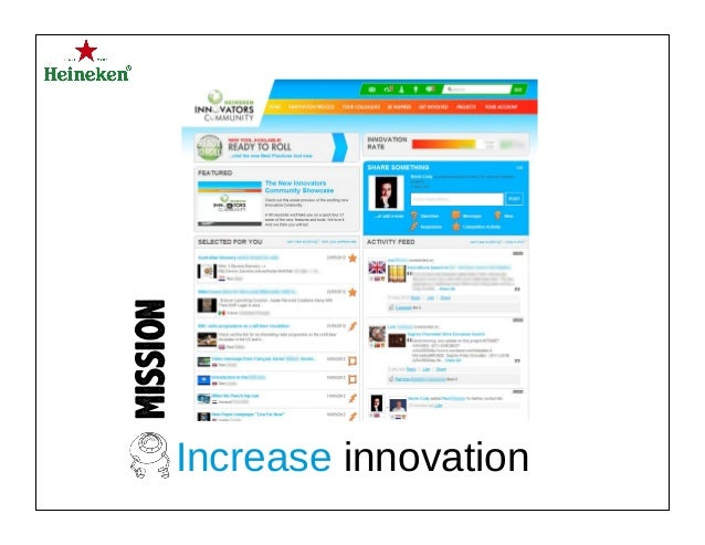 MISSION Increase innovation